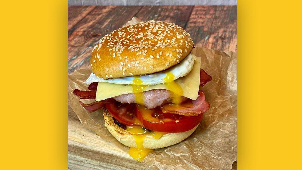 Kearns Breakfast Burger
